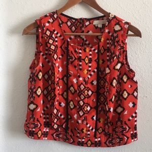 EUC GIANNI BINI | Red Aztec Tank